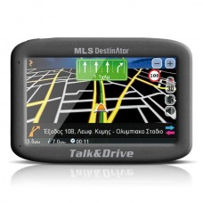 GPS MLS Destinator Talk&Drive 433 (Ελλάδα-Κύπρος)